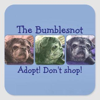 Bumblesnot stickers: Color Me Bumble Sticker