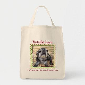 Bumblesnot tote bag: Bumble Love