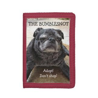 Bumblesnot wallet:  Adopt! Don't shop! Tri-fold Wallet