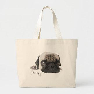 Cute Pug Life Tote Bag
