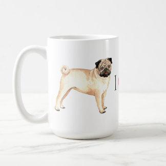 I Love my Pug Coffee Mug