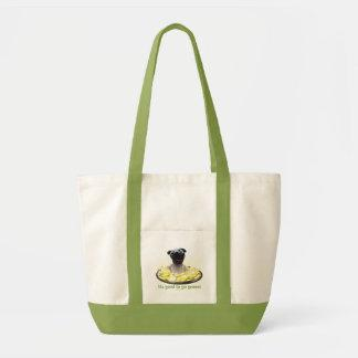 It's good to go green! impulse tote bag