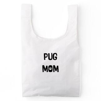 Pug Mom Reusable Bag