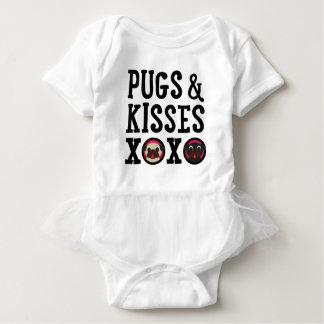 Pugs & Kisses XOXO Baby Bodysuit With Tutu