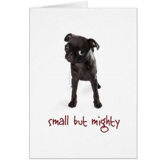 RD Pug Mighty Notecard Vertical