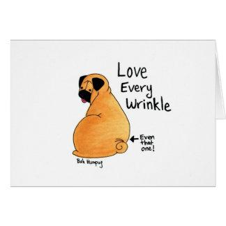 A Pug Wrinkle in Time Card