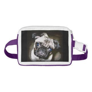 adorable pug face fanny pack