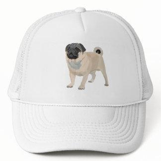 Adorable Pug Trucker Hat