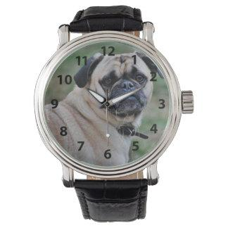 Adorable Pug Watch