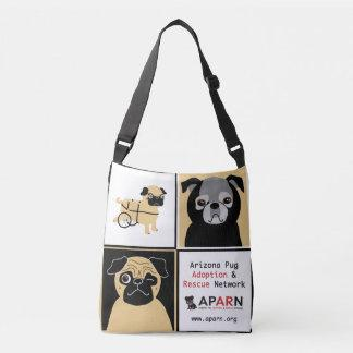 APARN Rescue Pugs All-Over-Print Cross Body Bag