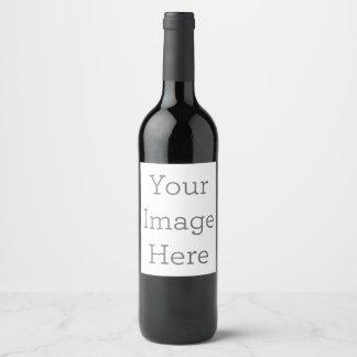 Create Your Own Wine Bottle Label