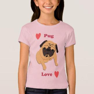 Cute Pug Love Dog T-Shirt