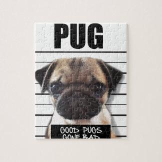 good pugs gone bad jigsaw puzzle