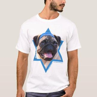Hanukkah Star of David - Pug T-Shirt