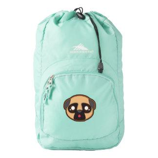 Kawaii pug backpack