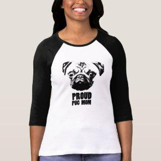 proud pug mom T-Shirt