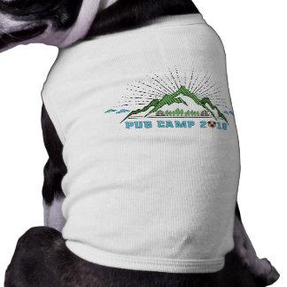 Pug Camp 2018 Dog Shirt