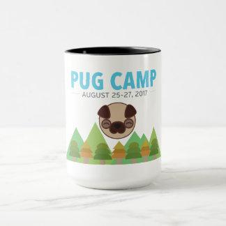 Pug Camp Coffee Tea Mug