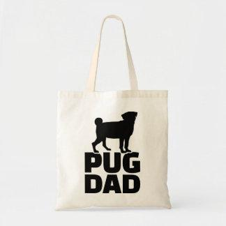 Pug Dad Tote Bag