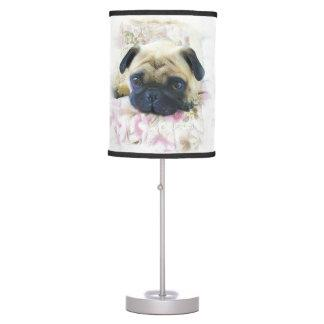Pug Dog Desk Lamp