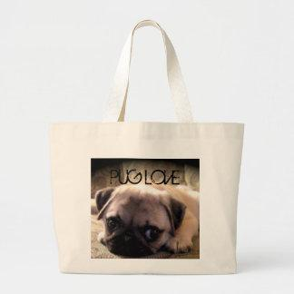 Pug Dog Jumbo Tote Bag