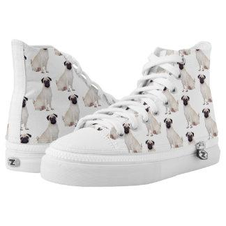 Pug High Tops Shoes