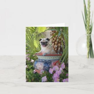 Pug in a Jug Card