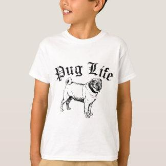 Pug Life Funny Dog Gangster T-Shirt