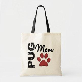 Pug Mom 2 Tote Bag