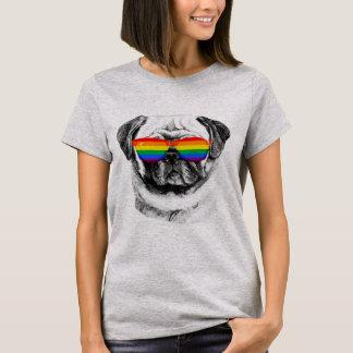 Pug Pride Sunglasses T-Shirt