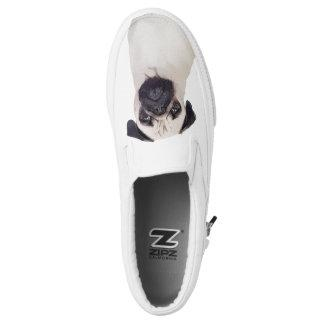 Pug Slip-On Shoes