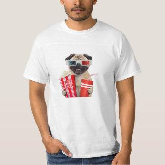 Pug watching a movie T-Shirt