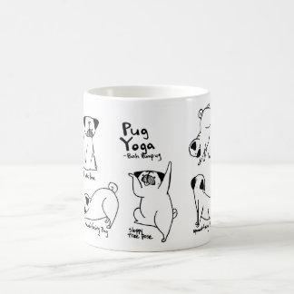 Pug Yoga Coffee Mug