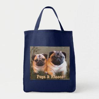 Pugs & Kisses Tote Bag