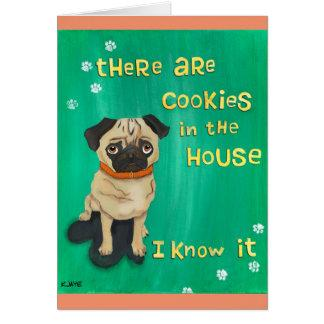 Pugs Know - Funny Gift for Dog Lovers Card