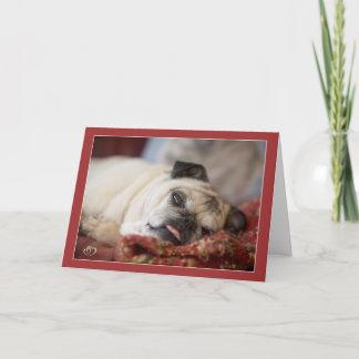 Sweet Pug Napping Cards by Pugs and Kisses