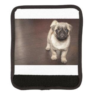 The perfect child  is a pug luggage handle wrap